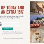 Cost Plus World Market – Extra 15% Off Promo Code