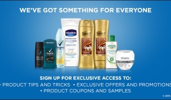 Unilever – Free Samples & Coupons