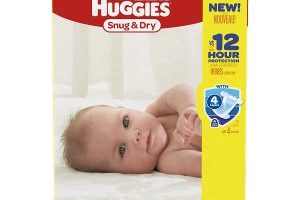 Huggies Stock up Diapers Deal – As low as $.10 a Diaper