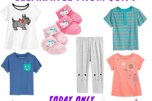 Macy's – Baby & Toddler Clearance from $3.99