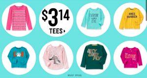 Crazy 8 – Tees $3.14 (Regular $10.88 – $14.88)