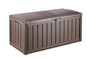 Keter 101 Gallon Outdoor Storage Container Patio Box $69.74 (Regular $109.99)