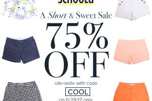 Schoola – 75% Off Site-wide Promo Code (Today ONLY)