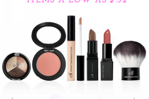 e.l.f. Cosmetics Summer Sale with Items as low as $.32 + FREE 4 Piece Mystery Gift