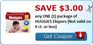 & $3/1 Huggies Diapers, $.50/1 Huggies Wipes, Kebbler, Kellogg's & More Coupons