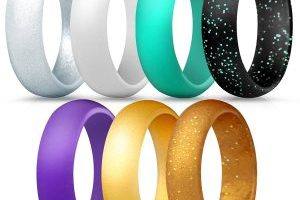 7 Pack of Women Silicone Rings $11.90 (Regular $19.95)