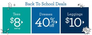 Gymboree Back to School Collection – Lunchbox, Backpacks, Tees, Dresses, Shoes & More