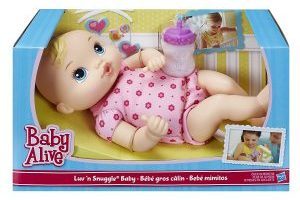 Baby Alive Luv 'n Snuggle Baby Doll $8.99 (Regular $39.99)