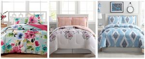 3 Piece Comforter Sets $19.99 (Regular $80)