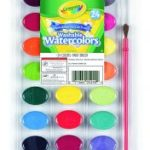 Crayola 24 Count Washable Watercolors $1.98 (Regular $6.99)