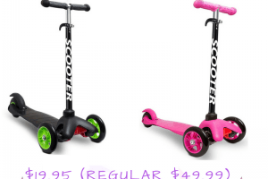 Den Haven Scooter for Kids $19.95 (Regular $49.99)