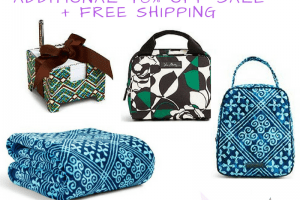 Vera Bradley – Extra 40% Off Sale Items + FREE Shipping