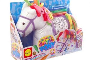 ALEX Toys Craft Color and Cuddle Washable Pony $8.00 (Regular $18.50)