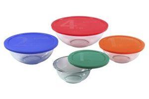 Pyrex 8 Piece Smart Essentials Bowl Set $14.88 (Regular $29.99)