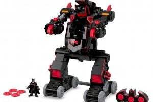 Fisher-Price Imaginext DC Super Friends, RC Transforming Batbot $34.97 (Regular $69.99)