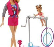 Barbie Gymnastic Coach Dolls & Playset $9.68 (Regular $19.99)