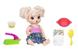 Baby Alive Super Snacks Snackin' Noodles Baby Doll $15.24 (Regular $39.99)