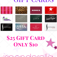 $10 for $25 Gift Card – Run My Favorite Deal!!