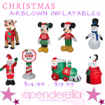 Christmas Airblown Inflatables Yard Decorations $14.99 – $19.99