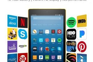 Fire HD 8 Tablet with Alexa 16 GB $49.99 (Regular $79.99)