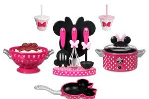 Minnie Mouse Cooking Play Set $22.00 Shipped!