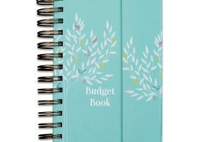 Monthly Budget Tracker Book $14.95