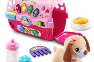 VTech Care for Me Learning Pet Carrier Toy $13.04 (Regular $24.99)