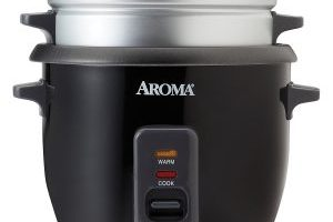 Aroma Rice Cooker & Steamer $15.64 (Regular $29.99)