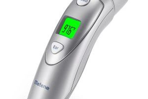 Metene Medical Forehead and Ear Infrared Digital Thermometer $19.99 Shipped