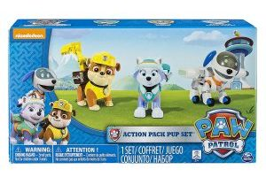 3 Pack Paw Patrol Action Pup Set $8.37 (Regular $19.99)