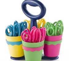 Westcott School Scissor Caddy with 24 Kids Scissors $19.36 – Just $.80 a Scissor!