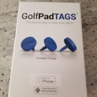 Golf Pad TAGS - Track Your Shot through an App - Promo Code
