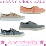 Sperry  Men's and Women's Shoes as low as $22.50 (Regular $60+)