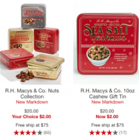 Macy's Clearance Gourmet Food Gift Sets Up to 90% Off - Starting at $2