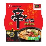 NongShim Shin Gourmet Bowl Noodle Soup $9.98 for Pack of 12 – $.83 each!