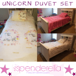 Unicorn Duvet Cover Sets as low as $25.75