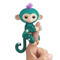Fingerlings Teal Glitter Monkey - Quincy $5.99 (Regular $14.99)