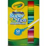 Crayola Super Tips Washable Markers 50 Count $5.09 (Regular $9.99)