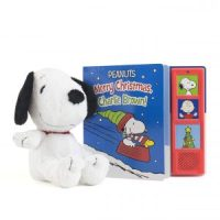 Peanuts Merry Christmas, Charlie Brown! Sound Board Book with Snoopy Plush $3.74 (Regular $17.99)