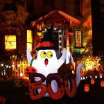 5 Foot Halloween Inflatable Ghost Blow Up with Internal LED Lights $9.99 Shipped!