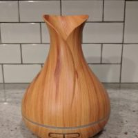 Essential Oil Diffuser in Wood Grain $17.99 (Regular $35.99)