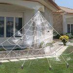 16 Feet Giant Super Stretch Spider Web $9.99