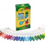 Crayola Super Tips Washable Markers 50 Count $4.89 (Regular $9.99)