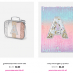 Justice – Clearance Accessories from $.80 – Lunch Box $2 & Backpack $6