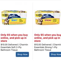 Charmin 16 Rolls Toilet Paper $4 each - RUN Deal!