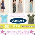 Old Navy Women Dresses $9.60 (Regular up to $34) & Girls Shirts $4 + More!