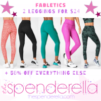Fabletics TWO Highly Rated Leggings $24 Shipped ($12 each - Regular $50 each)