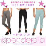 Reebok Women's Leggings Buy 1 Get 2 FREE = $7.66 each