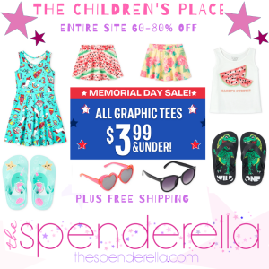The Children's Place Memorial Day Sale