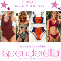 Cupshe Women Swim Suits from $9.99 (Regular $24.99 - $37.99)
